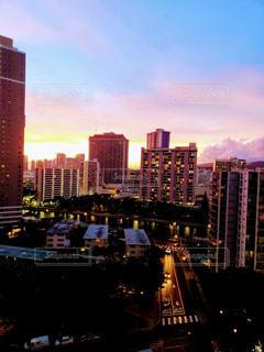 都市の高層ビルの写真・画像素材[1449797]