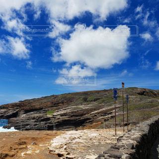 海岸線の岩山の写真・画像素材[1531988]