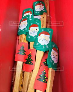 可愛いクリスマスグッズの写真・画像素材[1653304]
