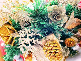 クリスマスシーズンのデコレーションの写真・画像素材[1653465]