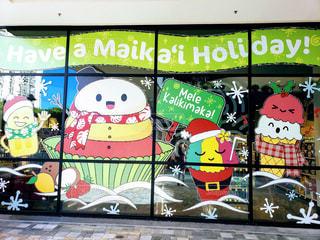 クリスマスシーズンのフードランド アラモアナ店の写真・画像素材[1659005]