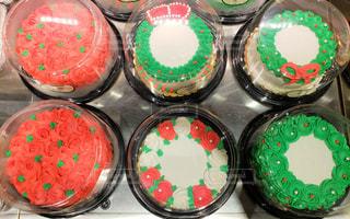 アメリカン クリスマスケーキの写真・画像素材[1660056]
