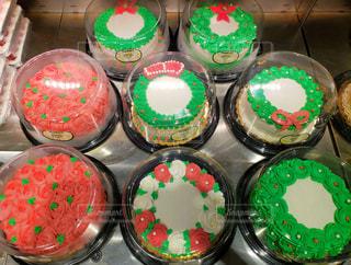 アメリカンクリスマスケーキの写真・画像素材[1660057]