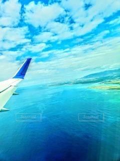 空からオアフ島の写真・画像素材[1822272]