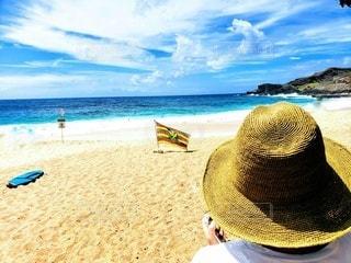 まぶしいSandy Beachの写真・画像素材[3118437]