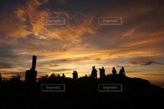 夕焼けの写真・画像素材[1243153]