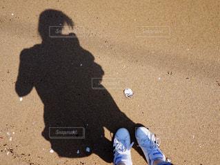 足跡の写真・画像素材[1248272]