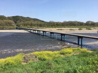 四万十川の沈下橋の写真・画像素材[1239382]