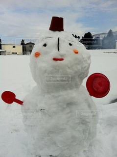 雪だるまの写真・画像素材[1236936]