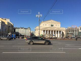 モスクワの古い建物の写真・画像素材[1236390]