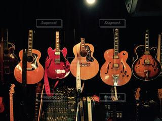 ギター・コレクションの写真・画像素材[1498821]