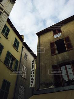 南仏の歴史的街並みの写真・画像素材[2331033]
