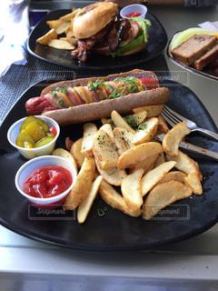 プレート、食品トレイの写真・画像素材[1237017]
