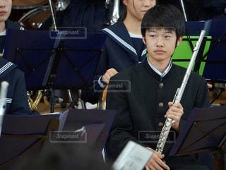 吹奏楽部の中学生の写真・画像素材[1237390]