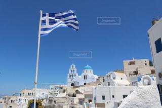 ギリシャ:サントリーニ島🇬🇷の写真・画像素材[1243664]