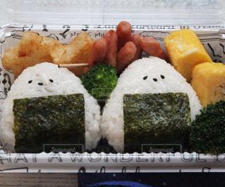 料理の種類でいっぱいのボックスの写真・画像素材[1637754]