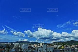 町と空の写真・画像素材[1386712]