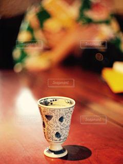 和柄のコップの写真・画像素材[1386818]