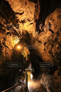 鍾乳洞の写真・画像素材[1499740]