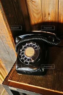 黒電話の写真・画像素材[1501847]