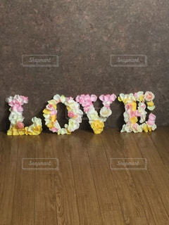 LOVEアルファベットオブジェの写真・画像素材[1239349]