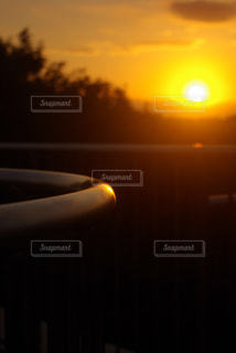 夕暮れ展望台の写真・画像素材[1247604]