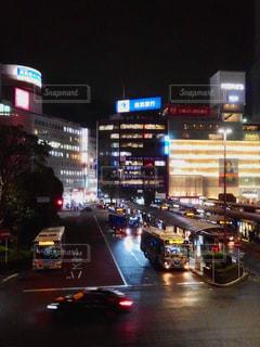 ターミナルの夜の写真・画像素材[1496749]