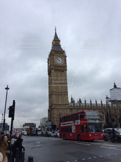 曇空の日のロンドンの写真・画像素材[1242238]