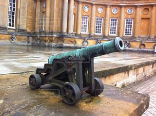 ブレナム宮殿の大砲像の写真・画像素材[1242352]