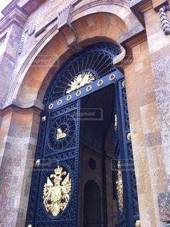 宮殿の門の写真・画像素材[1242374]