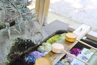 御裳神社にての写真・画像素材[1244336]