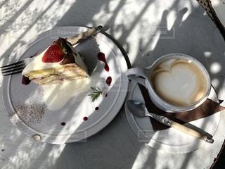 cafeでまったりの写真・画像素材[1241675]
