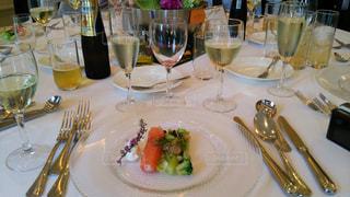 披露宴のテーブルの写真・画像素材[1266557]