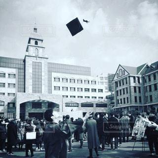 大学の卒業式の写真・画像素材[1242189]