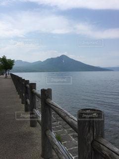 支笏湖風景の写真・画像素材[1242324]