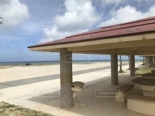 ビーチとゆくりばーの写真・画像素材[1242599]