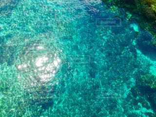 海に反射する太陽☀️の写真・画像素材[1369869]