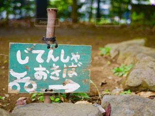 公園の看板の写真・画像素材[1460793]