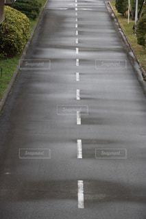 まっすぐな道の写真・画像素材[1248461]