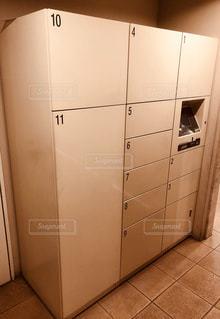 宅配ボックスの写真・画像素材[1255729]