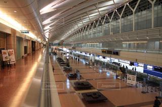 空港ロビーの写真・画像素材[1260903]