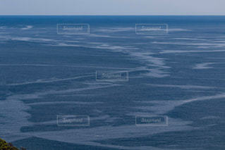 大海原の潮目の写真・画像素材[1245450]
