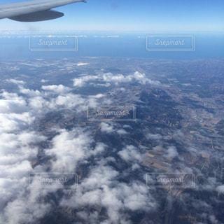 上空からの眺めの写真・画像素材[1246265]