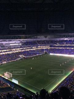 雰囲気いっぱいスタジアムの写真・画像素材[1246300]
