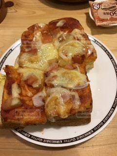 コメダのピザトーストの写真・画像素材[1246365]