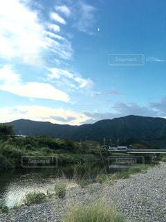 山奥の美しい風景の写真・画像素材[1246463]