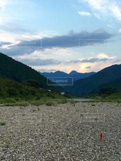 山奥の美しい風景の写真・画像素材[1246464]
