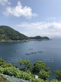 道の駅 伊根からの舟屋の風景の写真・画像素材[1247386]