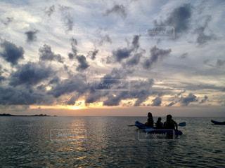 海の上での写真・画像素材[1249364]
