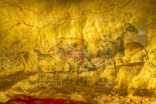 ラスコー洞窟の壁画。の写真・画像素材[1292727]